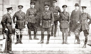 General Sir John Grenfell Maxwell and his staff, Dublin