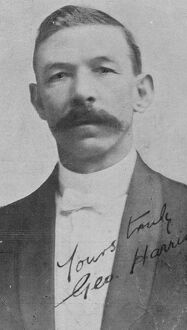 George Harris ( Boxing MC ). 20 February 1923