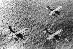 German seaplanes . 1930