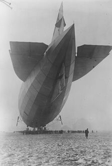 The German Zepplin L Z 120 handed over to Italy 3 December 1920