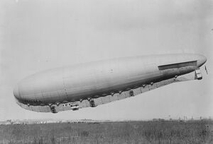 Giant Italian Airship ' Roma ' to fly the Atlantic to America 16 December 1920