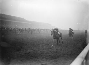 The Grand National at Aintree Racecourse, Liverpool