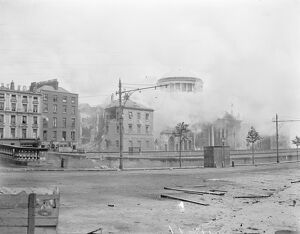 The Great Battle of Dublin The capture of the Four Courts in Dublin. The Four