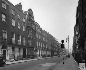 Harley Street, Westminster, London - looking north. Harley Street is noted for