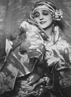 Heroine of London romance. Mlle Maria Ley, the famous Continental danseuse who