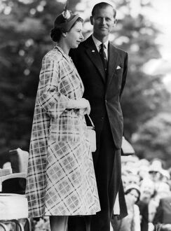 queen elizabeth ii/hm queen duke edinburgh civic reception masterton