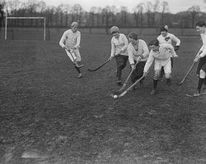 Hockey at Lyons Club, Sudbury 1 February 1920