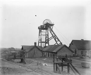 Holly Bank Colliery Essington Staffordshire December 1920