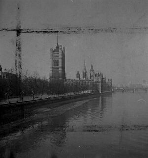 Houses of Parliment, London. 31 March 1946