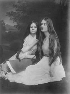 Hungarian sister Countesses of Scots ancestry. The sister Countesses Erody Scott