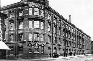 Huntley & Palmer's Factory, Reading, Berkshire : British firm of biscuit makers