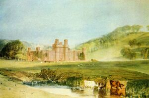 Hurstmonceux Castle, Sussex : Watercolour by J M W Turner