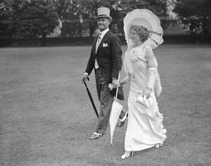 Indian Empire Garden Party at Hurlingham Mrs Grosvenor - Collins ( wife of Major
