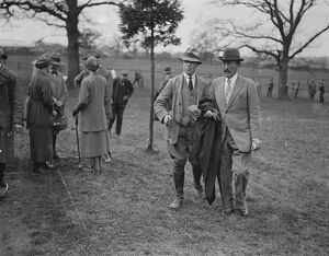 Jersey Cattle Show at Tunbridge Wells Viscount Hardinge ( right ) 2 May 1923