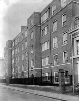 Jewish Board of Guardians new housing estate, Lincolon Street, Mile End Road, East London