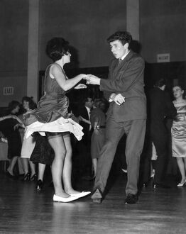 The jive 1950 dance / dancing / party season / celebration / happy vintage news