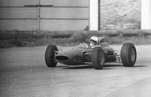 John Surtees in his first race back after an accident in Canada 17 March 1966