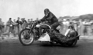 John Surtees Sr on motorcycle the father of racing driver legend John Surtees who