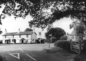 The Kentish Horse pub in Markbeech, Kent, England 1970's