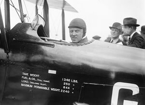The Kings Cup Air Race. Colonel the Master of Sempill. 1 July 1926
