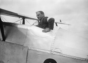 The Kings Cup Air Race. Squadron Leader H W G Jones. 9 July 1926