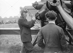 The Kings Cup Air Race. Squadron Leader Sir Christopher Brand, KBE, DSO, MC, DFC