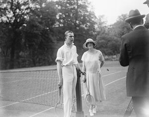 Lady Beatty 's tennis tournament at Hanover Lodge, Regent 's Park. Lady Ancaster