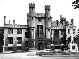 Lambeth Palace , London , the home of the Archbishop of Canterbury , England