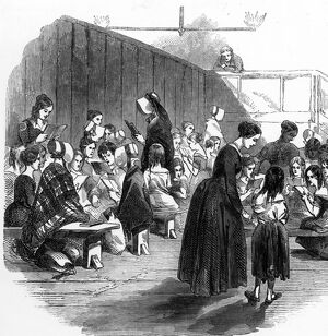 The Lambeth Ragged School (for girls)