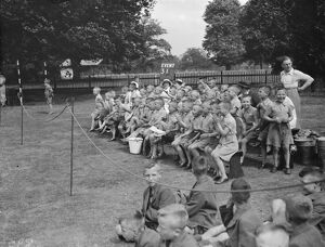 Lamorbey Residential School sports day in Sidcup, Kent. 1938