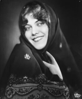 A Lancashire Lass. From Vienna. Miss Ruth Nielson, the famous Austrian Movie star