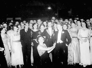 The Leap Year dance attendees in Eltham. 29 February 1936