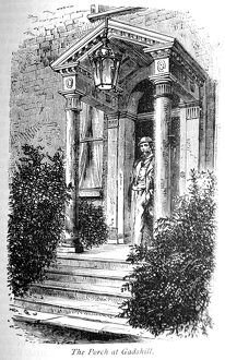 The Life of Charles Dickens The porch at Gadshill Place. Dickens moved from London