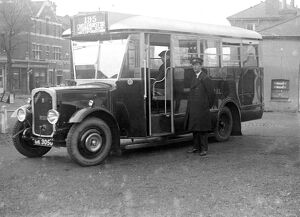London General Omnibus Company (L.G.O.C.) Bus in Kent. 1933