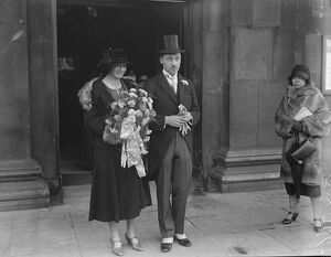 London journalist ' s wedding Mr A P McDougall was married to Miss V Foster at St