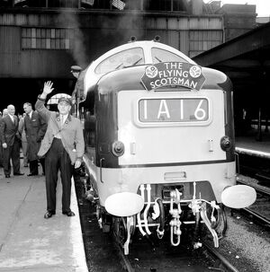 London: Mr Lord Charles Ellington, of Kings Cross, 57 year old British Railway train
