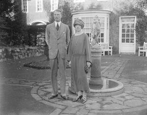 Lord Carnegie and his bride ( Princess Maud ) spend part of their honeymoon at Hull place