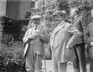 M Herriot, French Premier, visits Mr MacDonald at Chequers The two Premiers