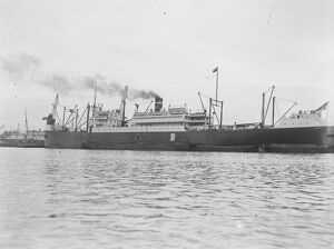 The US Mail Steamship Co, new mail steamer the ' Pan Handle State ' has arrived