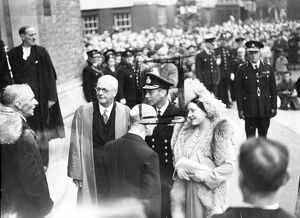 Their majesties the King and Queen visited Oxford University for the opening of Bodleian