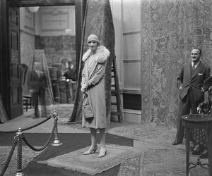 Marchioness of Carisbrooke at Grafton Galleries. 14 July 1930