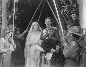 Marquess ' s daughter married Lady Phyllis Harvey and Captain Duncan Macrae were