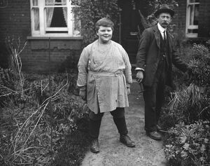 Maurice Pluthero, the fat boy of Petersham. 11 November 1916