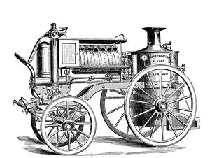 Merryweather's Steam Fire-Engine - Merryweather & Sons of Lambeth, later Greenwich