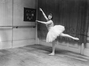 Miss Helen May the ballerina who was once taught by the great Pavlova. 2 July 1921