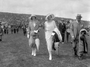 Miss Musgrave ( left ) and Miss June Chaplin Glorious Goodwood Racecourse, West Sussex