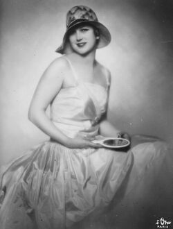 Mlle Andree Lafayette, who is at present in London. 16 March 1928