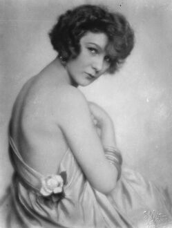 Mlle Yvette, famous dancer and well - known in Paris and Viennese society. 24