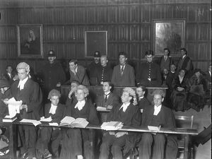 ' Mock Trial ' at Kings College, Cambridge University