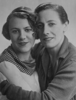 Mother and daughter in the same play. Miss Nancy Price and her daughter, Miss